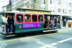 Tranvia en la ciudad — en San Francisco.