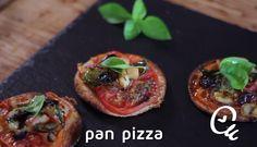 Cómo hacer mini pizzas con pan de molde | Cocina