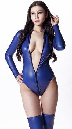 Aliexpress.comSSS-Body. Co. Ltdで信頼できる 衣装は、おとぎ話のような サプライヤ から フェイクレザーホットセクシーな女性ラテックス長い 袖のジッパートップエロボディスーツレオタードコスプレコスチュームファンタジードレスランジェリーのテディ を購入します。