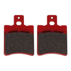 Performance NCY front brake pads for the Genuine Buddy 50 and the Ruckus front end kit.