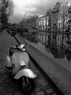 Saint-Martin canal, Paris, France  Copyright: Steven Le Vourc'h