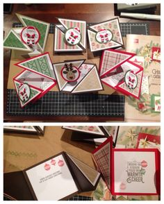 My stamp club ladies had fun Friday evening having making a gorgeous card using some new products from the Holiday Catalogue. They got to use The Cookie Cutter Christmas stamp set and Punch, Wrappe…