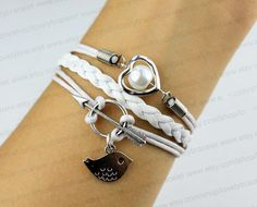 The ancient silver arrow charm and love the by lovelybracelet, $4.99