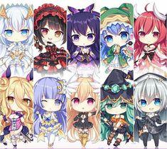chibi date a live Dibujos Anime Chibi, Chibi Anime, Manga Anime, Kawaii Anime Girl, Anime Art Girl, Date A Live Origami, Date A Live Kotori, Date A Life, Anime Date
