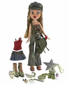 Bratz Wild Life Safari by MGA Entertainment Inc. $44.47. Cute and Collectible. hard to find. Brand new In box. The Bratz girls know how to look g-r-r-r-eat, even when out in the wild. Join your favorite Bratz doll, Fianna, for a fashion safari that will capture attention and turn heads wherever you go. Fianna is ready for adventure and fun with 2 funky fashion outfits, 2 pairs of shoes, hat, Bratzpack handbag, exclusive kangaroo key chain, water bottle, 2 pairs...