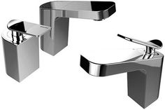 Bristan Alp mono basin mixer and two hole bath filler tap pack in chrome. Bath Taps, Basin Mixer, Cool Kitchens, Bb, Chrome, Traditional, Shower, Modern, Rain Shower Heads