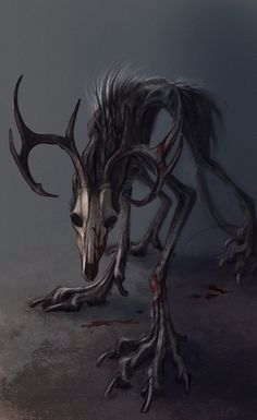 My whole life I thought I would know what to say But the darkness of reality Has stolen that away Shanol likes to wear his deer-skull mask to hide from reality in the world he sometimes visits in h...