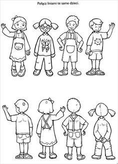 Użyj STRZAŁEK na KLAWIATURZE do przełączania zdjeć Preschool Art Activities, English Activities, Preschool Kindergarten, Preschool Learning, Kindergarten Worksheets, Fun Worksheets For Kids, Printable Preschool Worksheets, Yoga Jobs, Visual Perception Activities
