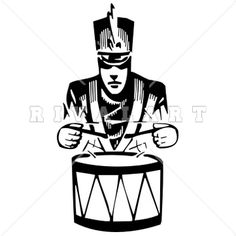 22 best band clip art images on pinterest clip art illustrations rh pinterest com  drum major clip art images