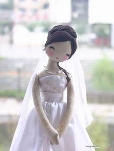 Mimin Dolls: Dolls noivas- bonecas coreanas