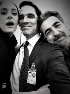 Criminal Minds Behind The Scenes (courtesy Thomas Gibson) philpetch