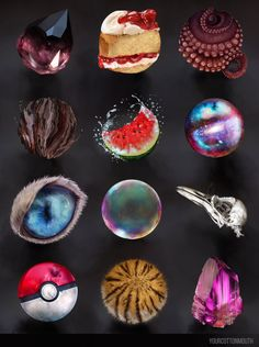material studies by YourCottonmouth.deviantart.com on @DeviantArt