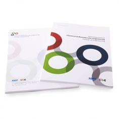 KAIST 생명화학공학과 홍보브로셔 Brochure Cover Design, Graphic Design Brochure, Book Cover Design, Book Design, Page Design, Layout Design, Print Design, Editorial Layout, Editorial Design