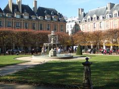 Places des Vosges, Paris.. loved people watching and soaking up the beauty of the moment in this spectacular place.