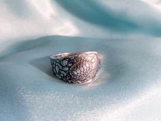 Sea Turtle Spoon Ring Ocean Theme Sterling by TreasureGrotto, $95.00