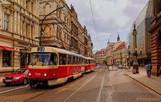 Prague : Národní třída  ( street )