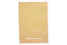 """copper """"best stripe"""" tea towel"""