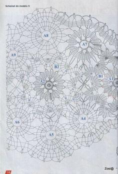 View album on Yandex. Japanese Crochet Patterns, Different Stitches, Small Blankets, Crochet Round, Crochet For Beginners, Learn To Crochet, Crochet Doilies, Views Album, Handicraft