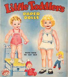 Paper Dolls~Little toddlers - Bonnie Jones - Picasa Web Albums