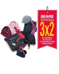 Sears camisas y accesorios de caballero