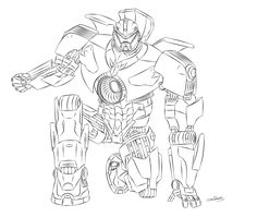 PACIFIC RIM's greatest benefits are Charlie Day and the kaiju (and Ron Perlman, but you have to kinda' squint to see him). Description from deviantart.com. I searched for this on bing.com/images