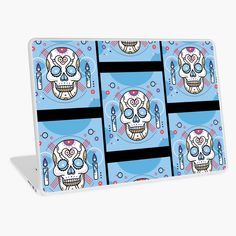 Promote | Redbubble Skull Design, Promotion, Office Supplies