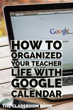 ::FREE VIDEO TUTORIAL:: Feeling like you're all over the place with your classroom planning and organization? Wish you could be more productive and focused?  Using the Google calendar to organize your teacher life - from curriculum planning, to parent communication, to knowing what copies to make - the Google calendar is the perfect system to help you make it all happen!  Check out this video tutorial to help guide you step by step how to get it done!