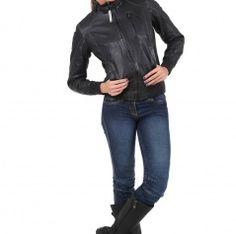 Kurtka Toba Lady Moto Jacket, Leather Jacket, Lady, Jackets, Fashion, Studded Leather Jacket, Down Jackets, Moda, Leather Jackets