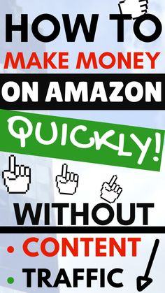 How To Make Money On Amazon Quickly Without FBA - SEO Blog - Read the latest SEO trend and statistics #SEO #SEOBlog #blog - Learn to make money on Amazon fast and without FBA. You can make money with an Amazon store using a unique affiliate marketing hack. In this case study youre going to learn how an ex-bartender make money online as an Amazon affiliate. Youll be impressed how easy it actually is. #MakeMoneyAmazon #Amazon