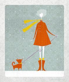 """""""Hello, Winter"""" by Claire Mohjer"""