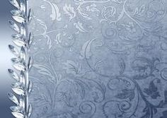 Silver Christmas Matching Backing Paper