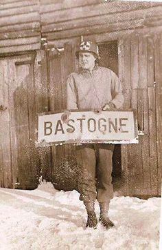 Battle of the Bulge-Bastogne.