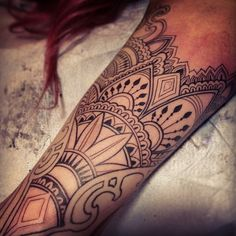 I adore this tattoo! With its simple line design there is nothing to hide behind.