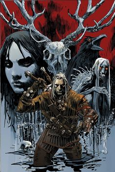 New Witcher comic coming March 2014!
