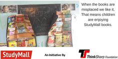 Misplaced books shows us that rural children are using StudyMall donate now at http://www.thinksharpfoundation.org/