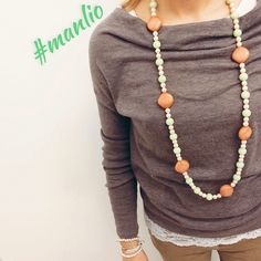 Spring 2015  Collana €59 Per spedizioni  WhatsApp 329.0010906 #manlio #jewelry #jewels #jewel #fashion #gems #gem #gemstone #bling #stones #stone #trendy #accessories #love #crystals #beautiful#ootd #style #fashionista #accessory #instajewelry #stylish #cute #jewelrygram #fashionjewelry #necklace