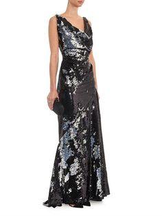 Vivienne Westwood Gold Label Amber sequin-embellished gown