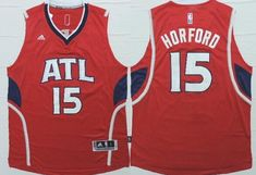 Atlanta Hawks #15 Al Horford Revolution 30 Swingman 2014 New Red Jersey