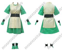 Avatar The Last Airbender Toph  sc 1 st  Pinterest & Toph Bei Fong Cosplay Costumes From Avatar The Last Airbender ...