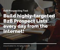 LeadGrabber Pro is a powerful tool that enables you to build targeted prospect lists in no time! A lot of businesses use this software to quickly build targeted client prospect lists, reach the right prospects and close more sales.