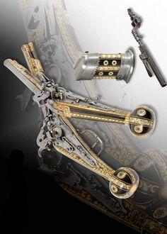 A pair of wheel lock pistols, Germany, ca 1600.