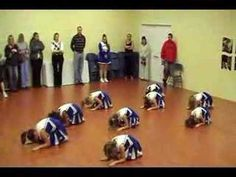 Cumberland RI, 2007 Jr Pee Wee cheer competition routine at rehearsal. Again, this was first time coach, first year for most of the girls, one girl w/ . Cheer Coaches, Cheer Stunts, Cheer Mom, Youth Cheerleading, Cheerleading Outfits, Cheer Dance Routines, Kids Cheering, Cheer Pictures, Cheer Pics