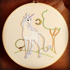 The Last Unicorn - I made this for my daughters sixth birthday :-)