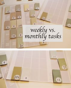 Modern Parents Messy Kids: Project Organize Your ENTIRE Life: DIY Cleaning Chart