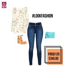 Tan sutil como tu #Look. #Moda #Outfit #Tendencia  www.paris-jeans.com