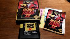 Road Rash II Sega Genesis complete video game,  complete in box road rash 2, road rash 2 Sega Genesis, Sega Genesis video game, Road Rash II - pinned by pin4etsy.com
