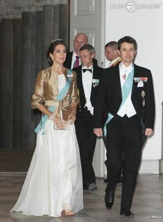 Princess Mary and Prince Frederik.