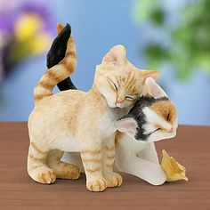Country Artists Romantic Tales Cat Figurine by Lenox Baby Kittens, Cats And Kittens, Cat Decor, Crazy Cat Lady, Crazy Cats, Country Artists, Bjd Dolls, Beautiful Cats, Cool Cats
