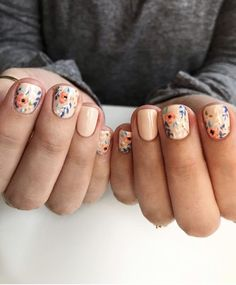 simple and amazing gel nail designs for summer – page 49 of 50 18 Fancy Nails, Love Nails, How To Do Nails, Pretty Nails, My Nails, Hair Skin Nails, Nail Envy, Gel Nail Designs, Perfect Nails