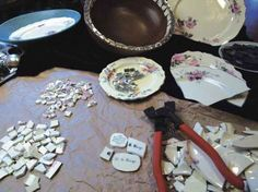 DIY Mosaic Tile & Grout Instructions